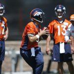 Broncos QB Battle Heats Up