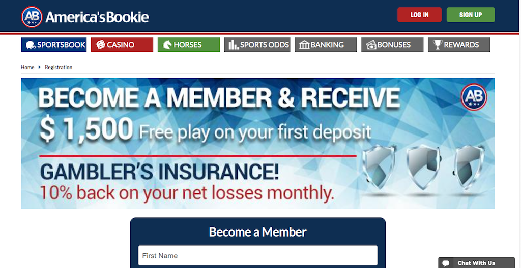 America's Bookie: Best Sportsbook Option